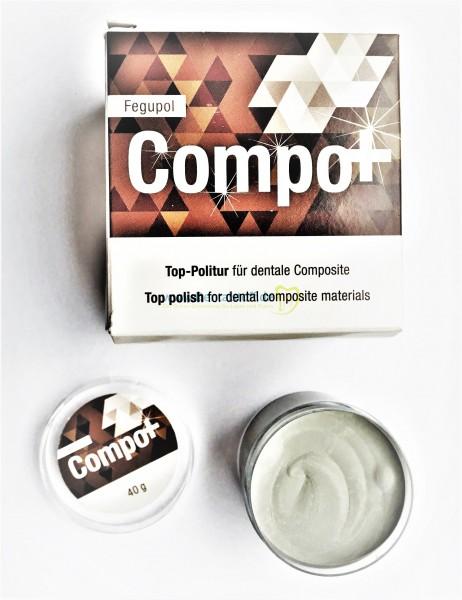 Fegupol 8070 Compo+ mit Diamantpolierpaste - 40g
